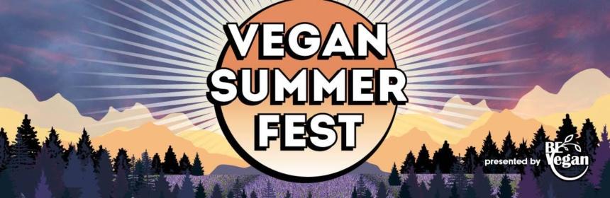 Vegan Summer Fest banner