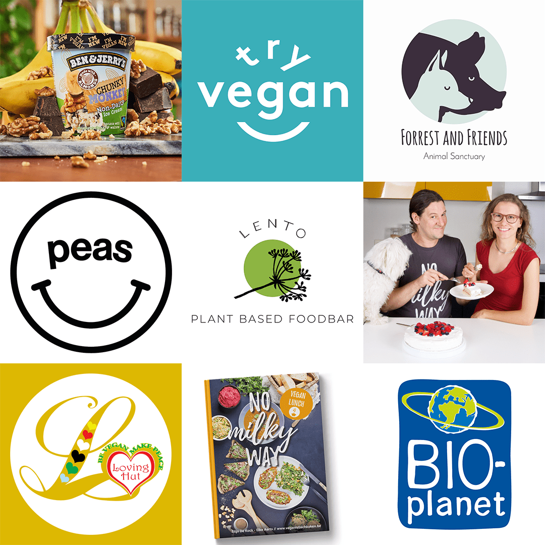 Belgian Vegan Awards gagnants